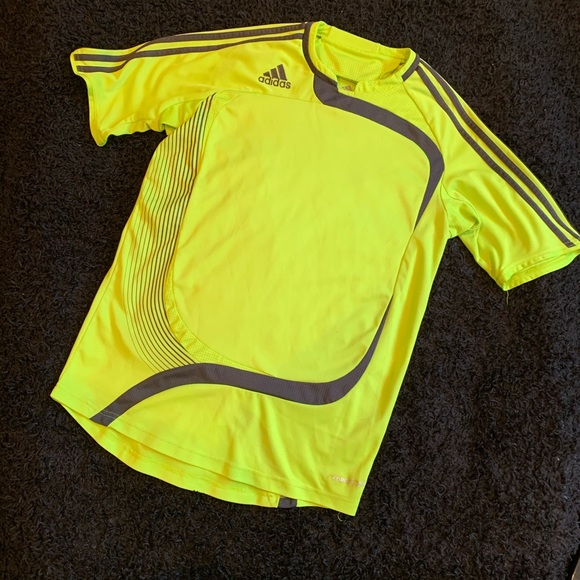 Men's S Green/Gray adidas Formotion Clima365 Top